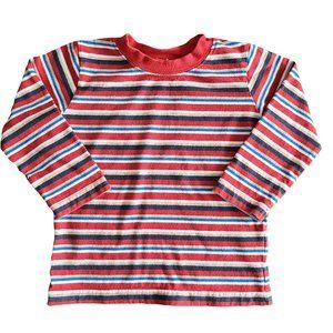 🍒3/$20🍒 MINIBOTS Red Blue & White Stripe Tee 3T